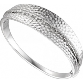Sterling Silver Wembley Arch Bangle
