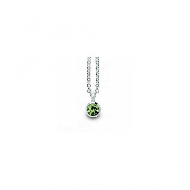 Bastian Inverun Sterling Silver And Peridot Necklace
