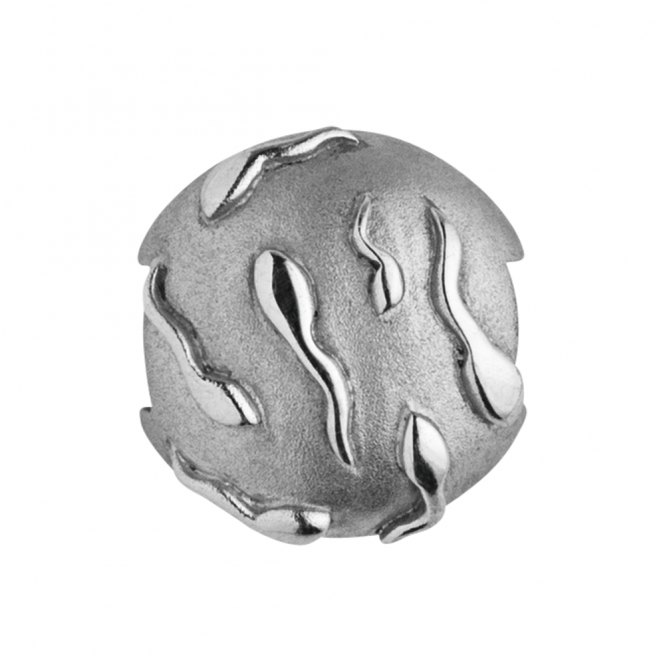 ByBiehl Silver Seeds Of Life Pod Charm