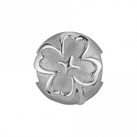 Sterling Silver Clover Pod Charm