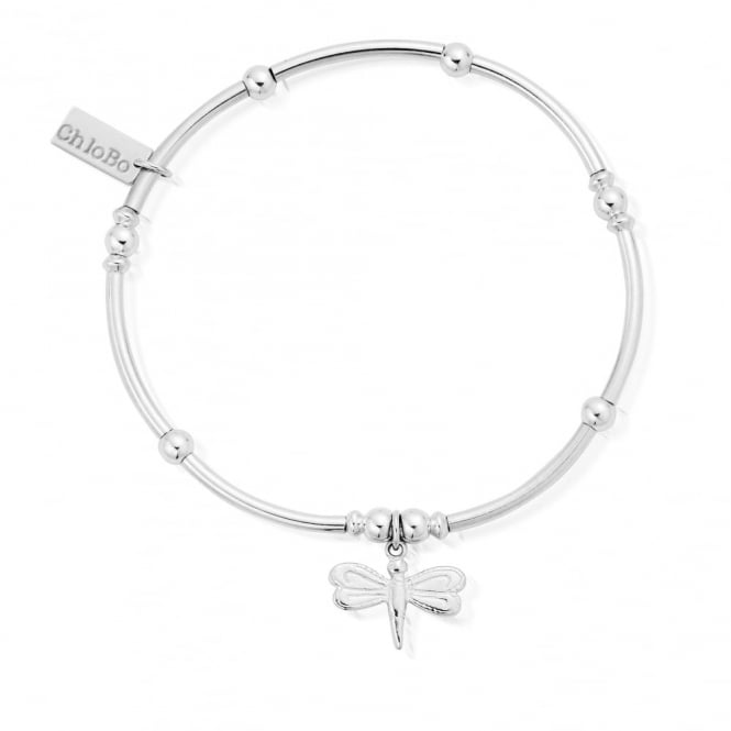 ChloBo Cute Mini Noodle Ball Dragonfly Bracelet
