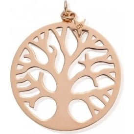 Iconics Rose Gold XL Tree Of Life Pendant