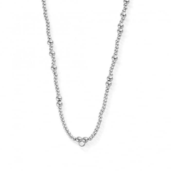 ChloBo Iconics Silver Random Necklace 92.5cm