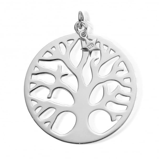 ChloBo Iconics Silver XL Tree Of Life Pendant