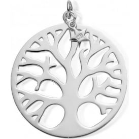 Iconics Silver XL Tree Of Life Pendant