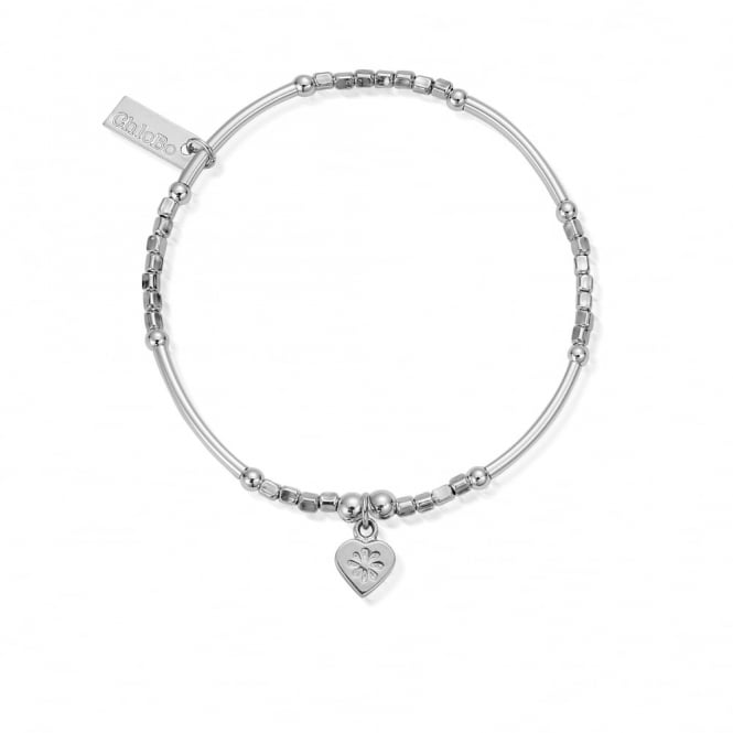 ChloBo Newbies Mini Noodle Cube Flower Heart Bracelet