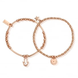 Rose Gold Protection Set Of 2 Stack