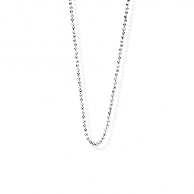 ChloBo Silver Ball Chain Necklace - 105cm