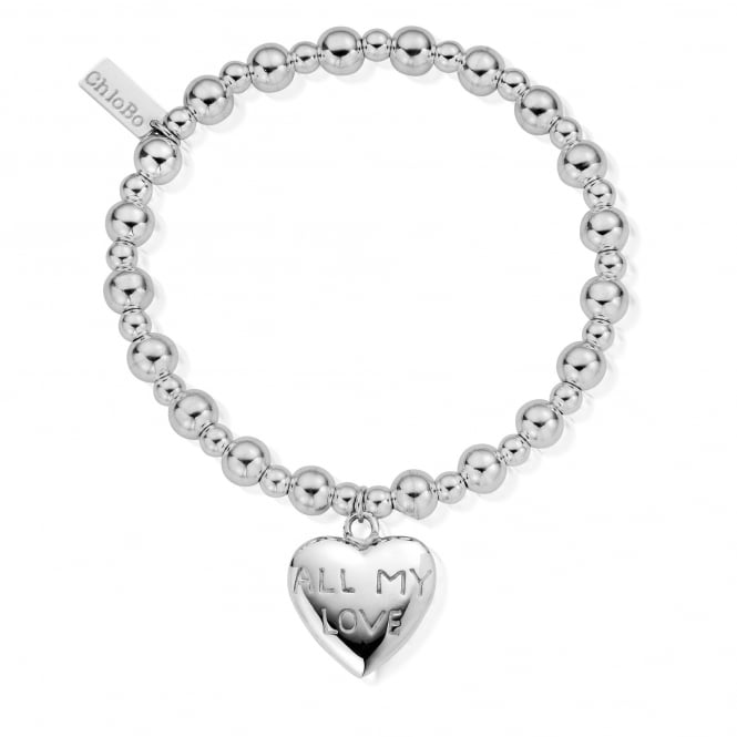 ChloBo Sterling Silver All My Love Bracelet