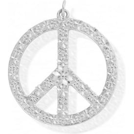 Sterling Silver Blossoming Harmony Pendant