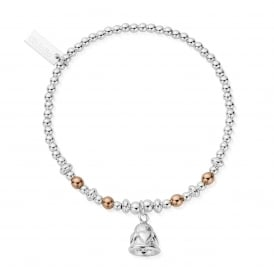 Sterling Silver Chiming Hearts Bracelet