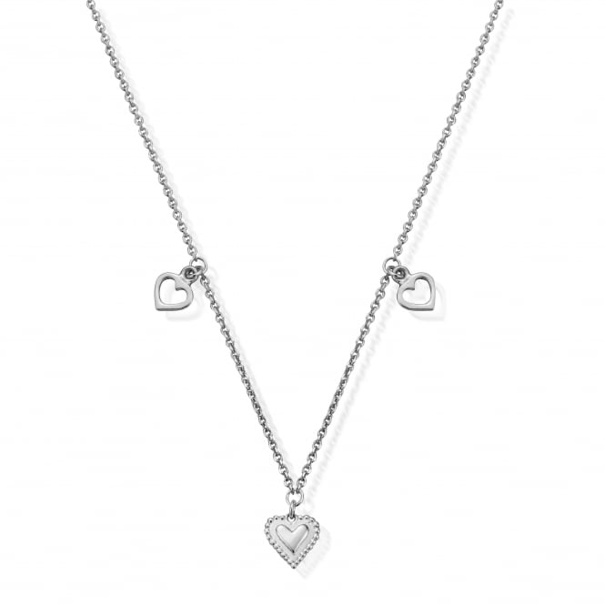 ChloBo Sterling Silver Graceful Heart Necklace
