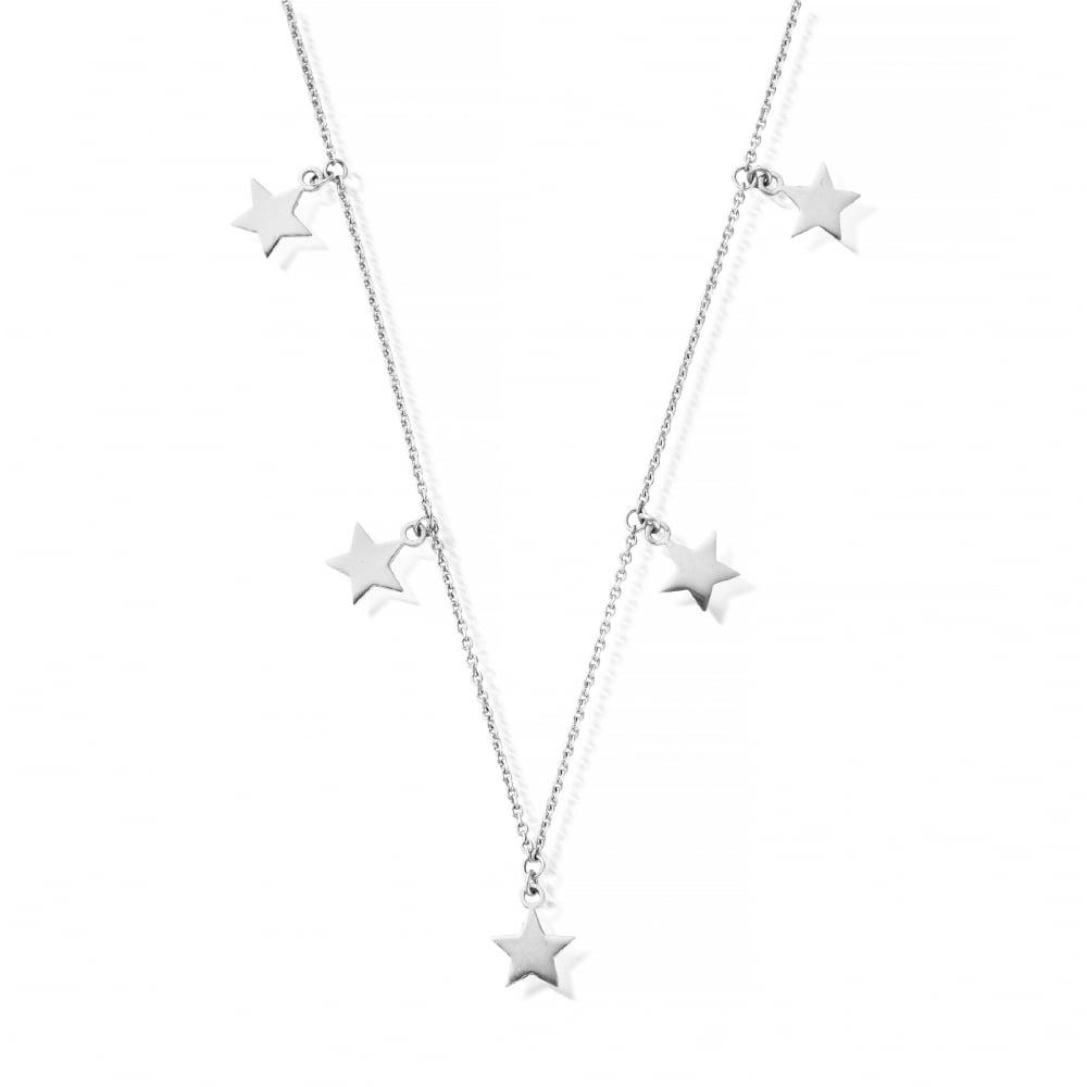 Sterling Silver Multi Star Necklace 1524ecb19e