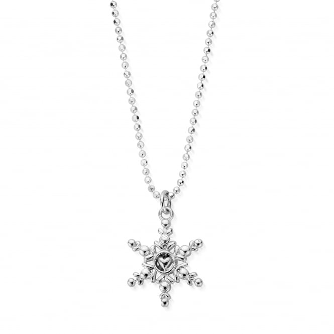ChloBo Sterling Silver The First Snowflake Necklace