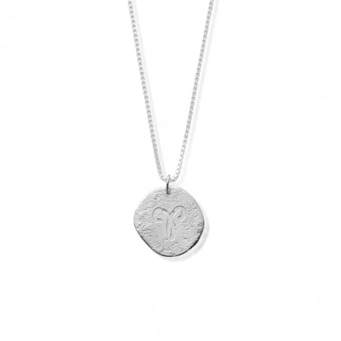 ChloBo Sterling Silver Zodiac Aries Necklace