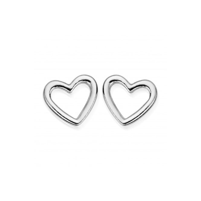 ChloBo Stud Open Heart Earrings