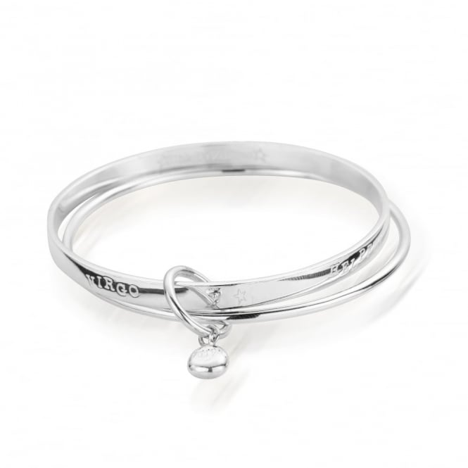 ChloBo Zodiac Silver Virgo Bangle