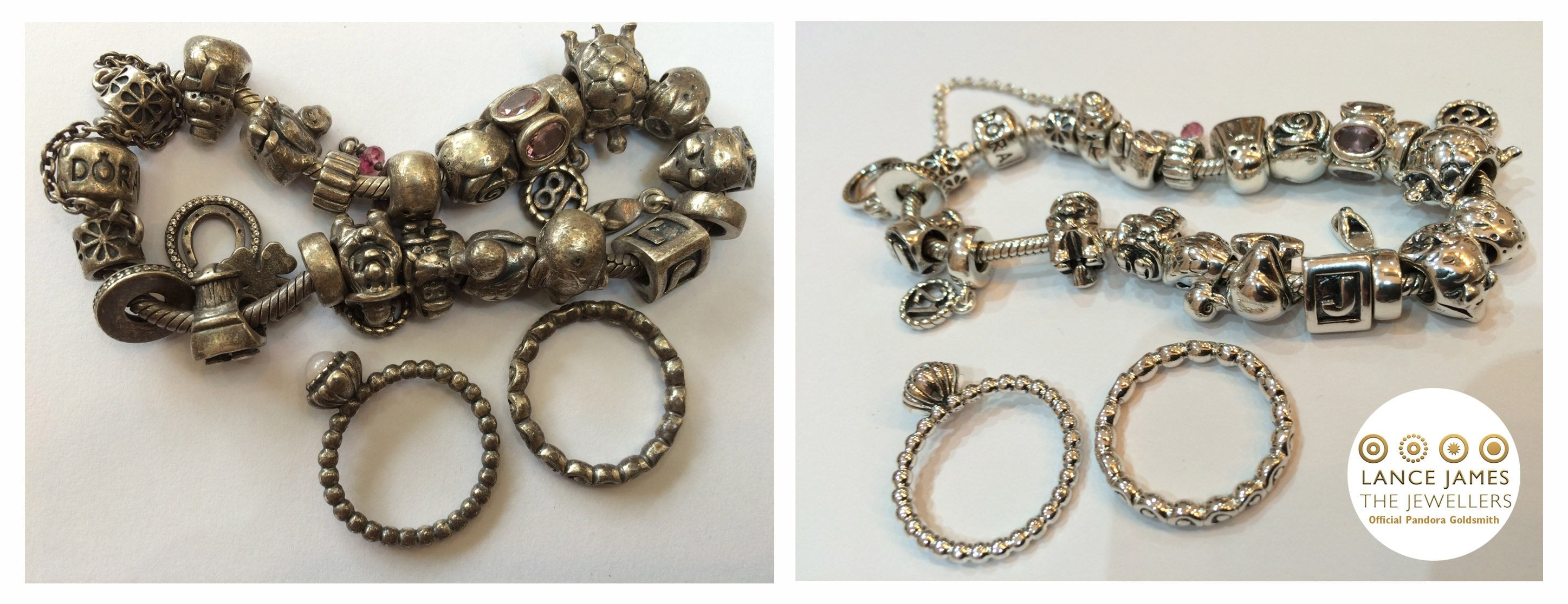 853e4db0a All your charms are brought back to life and often for the first time the  complete bracelet is all shiny and new together!