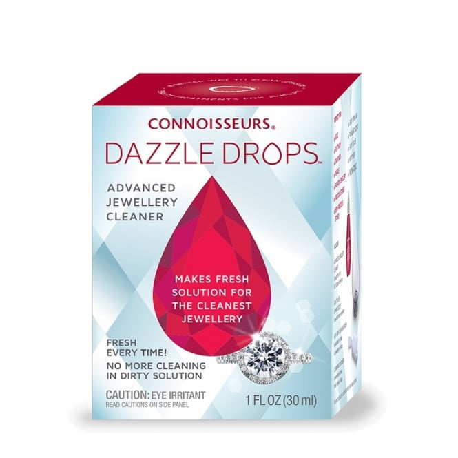 Connoisseurs UK Dazzle Drops Advanced Jewellery Cleaner™