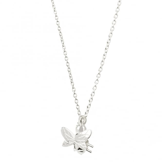 Daisy London Sterling Silver Bee Necklace