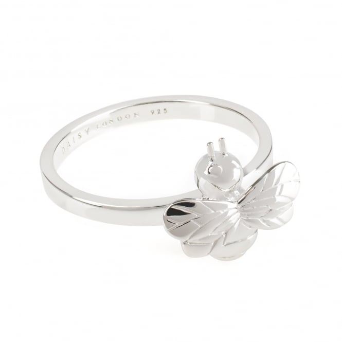 Daisy London Sterling Silver Bumble Bee Ring