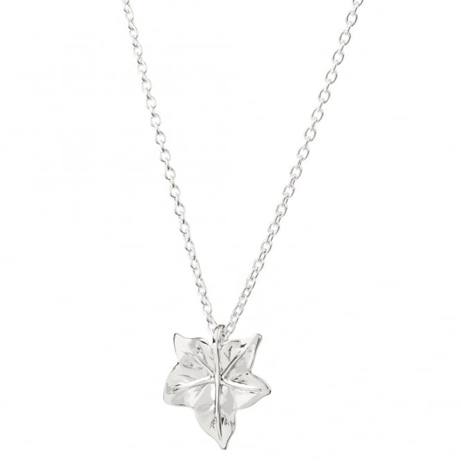 Daisy London Sterling Silver Sycamore Leaf Necklace