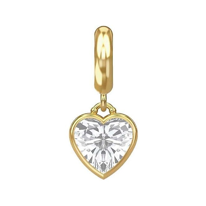 Endless Jewellery Gold Plated Eternity Love Dangle Charm