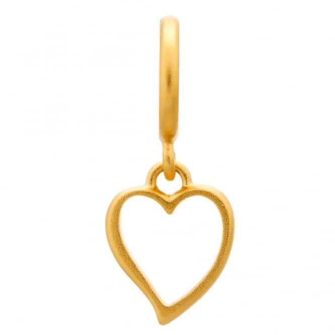 Endless Jewellery Big Heart Gold Plated Charm