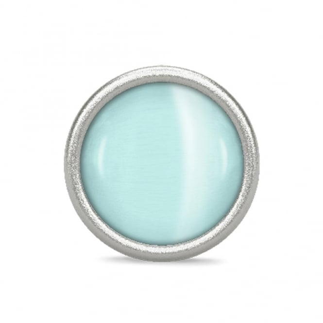 Endless Jewellery Large Light Blue Love Dome Charm
