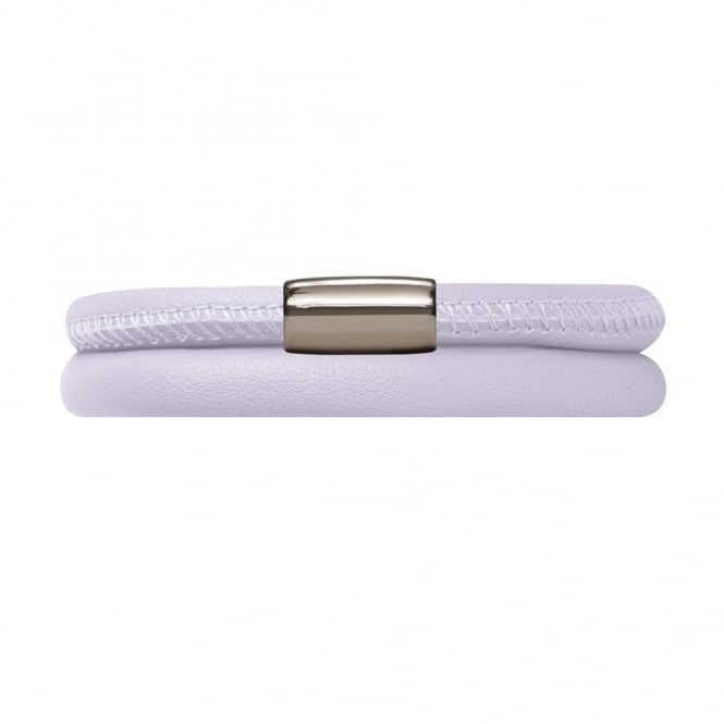 Endless Jewellery Lavender Double Wrap Leather Bracelet
