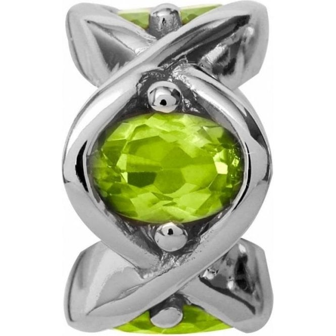 Endless Jewellery Sterling Silver Peridot Heaven Charm