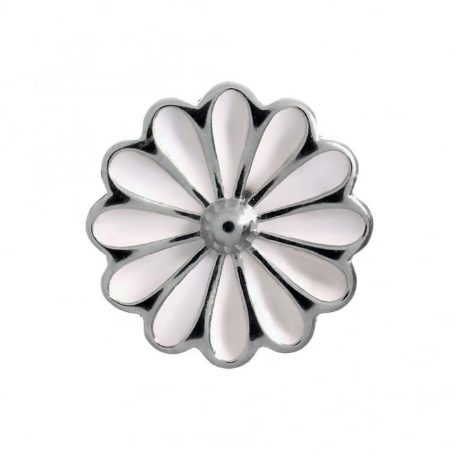 Endless Jewellery Sterling Silver White Daisy Charm