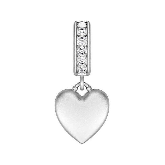 Endless Jewellery Sterling Silver Sparkling Love Charm