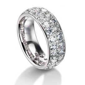 Furrer jacot platinum wedding rings lance james jewellers platinum fully set 280ct diamond wedding band junglespirit Gallery