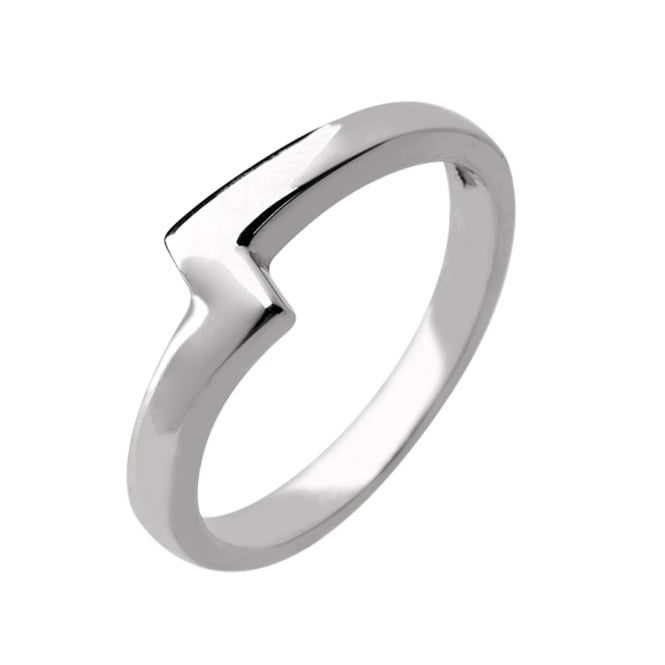 Lance James Wedding & Eternity 18ct White Gold 2.5mm Asymmetric Wedding Ring