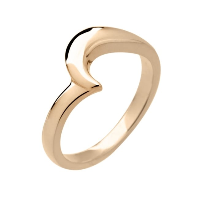 Lance James Wedding & Eternity 18ct Yellow Gold 2.5mm Asymmetric Shaped Wedding Ring