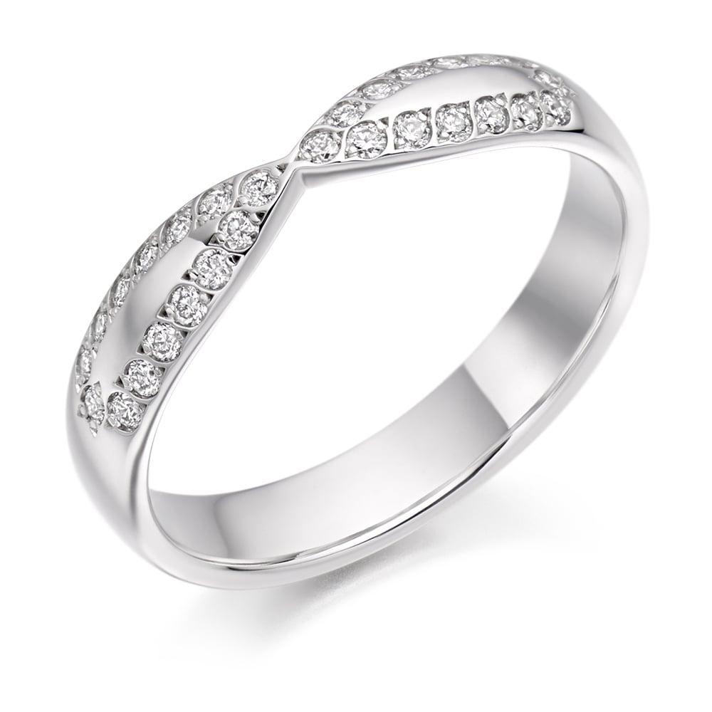 Diamond Set Wedding Rings Lance James Jewellers - Engagement and ...