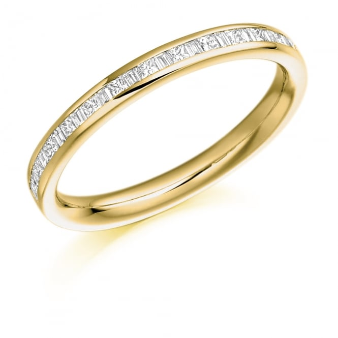 Lance James Wedding & Eternity 9ct Yellow Gold 0.30ct Mixed Cut Diamond Ring