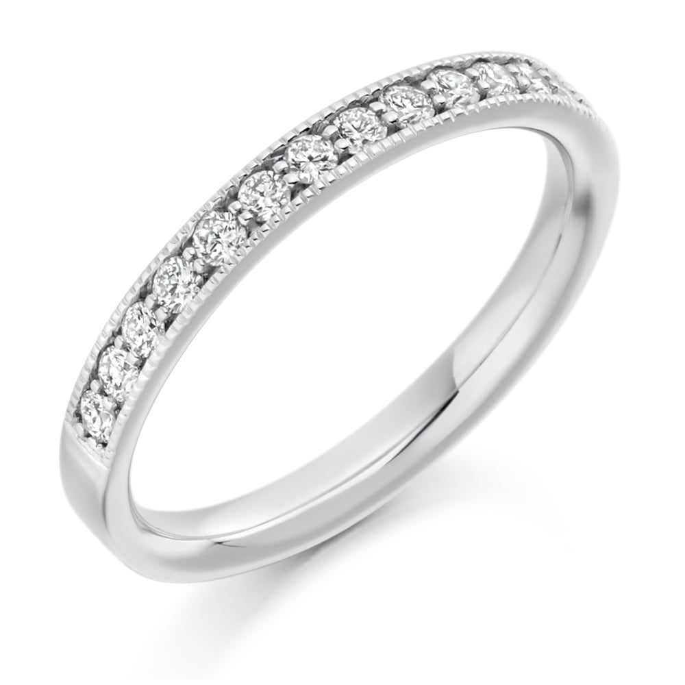 ring white unique diamond in size fancy wedding download luxury band full milgrain pave