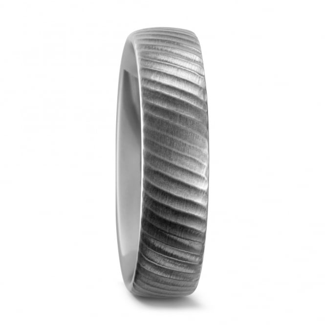 Lance James Wedding Mens Pure Titanium Matted Surface Wedding Ring