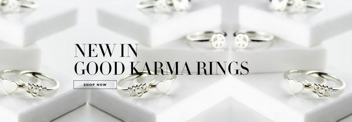 Good Karma New Rings