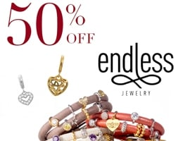 50% Off Endless Jewellery