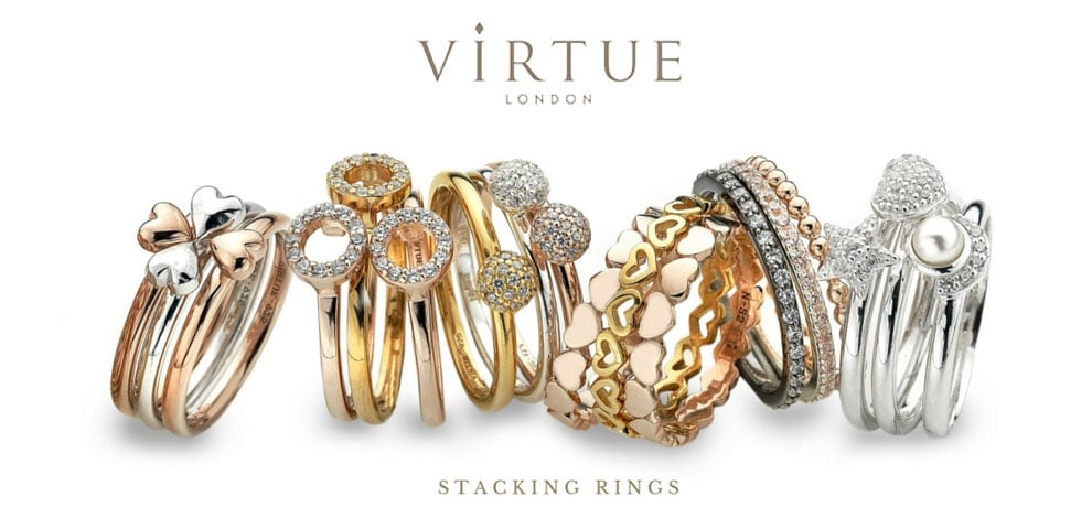 Virtue London Stacking Ring Promo