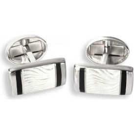 Sterling Silver T-Bar Cufflinks