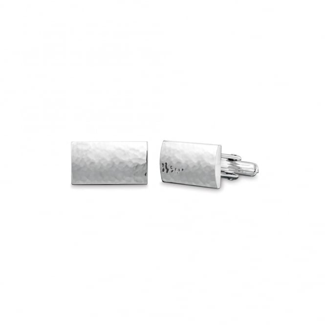Quinn Sterling Silver Rectangle Cufflinks