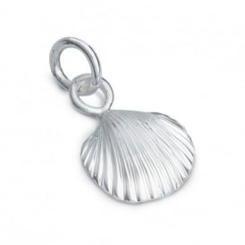 Sterling Silver Clam Shell Charm