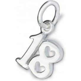 Sterling Silver Eighteen Charm