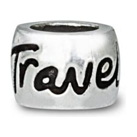 Sterling Silver Travel Safe Charm