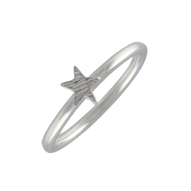 Scarlett Jewellery Sterling Silver Twilight Star Stack Ring