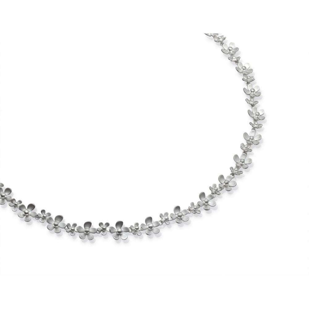 Unique   Co Sterling Silver Daisy Necklace - JEWELLERY from Lance ... ec404854134c